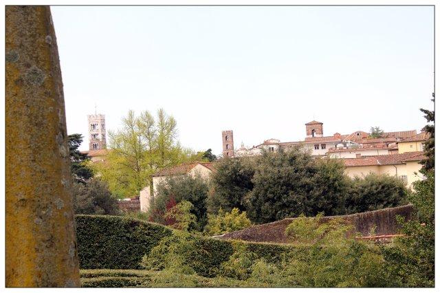 Vista des de la muralla de Lucca III.