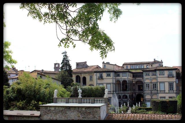 Vista des de la muralla de Lucca V.